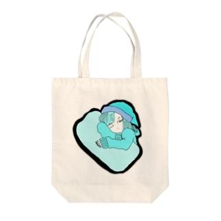 眠い Tote bags