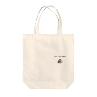 ドット絵 ショートケーキ Tote bags