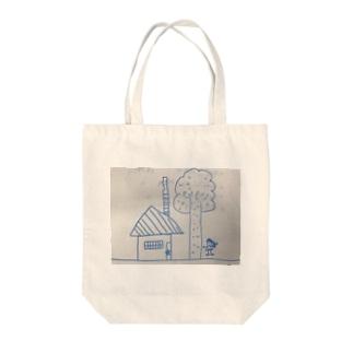 聖委員長のイラスト Tote bags