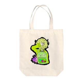 りゅっく Tote bags