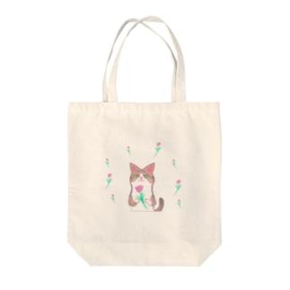 綺麗なおめめ【お花ver.】 Tote bags
