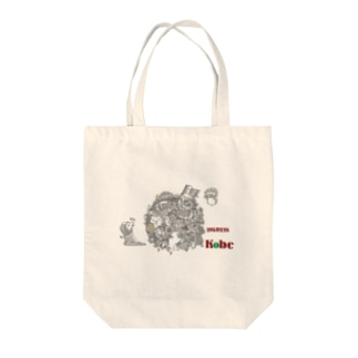 塊ingress 神戸 Tote bags