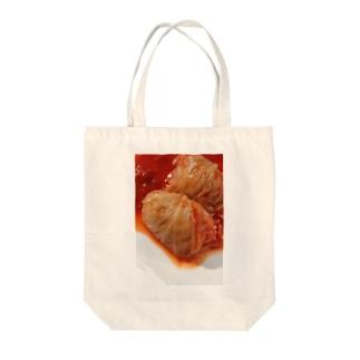 ロールキャベツ Tote bags
