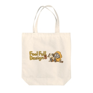 fool&dog ロゴカラー Tote bags