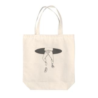 falling… Tote bags
