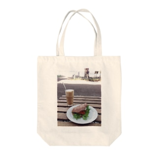 Lovely afternoon  Tote bags