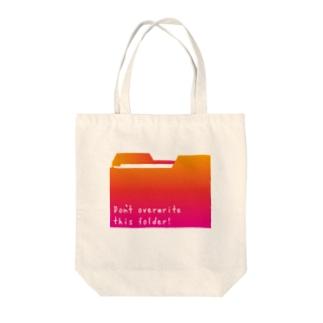 フォルダピンク Tote bags