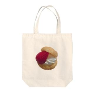 いちごな季節 Tote bags
