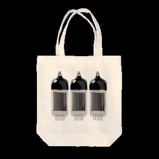 D-N-A Goods Shopの真空管 Tote bags