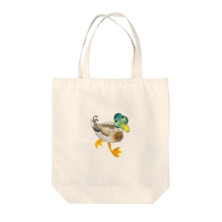 マガモ Tote bags