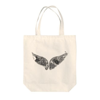 Lupus Wing Tote bags