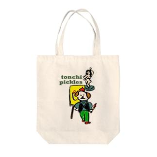 絵描きさん Tote bags