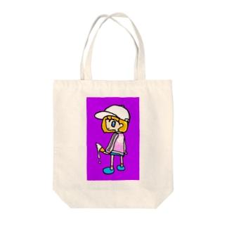 アイス女子 Tote bags