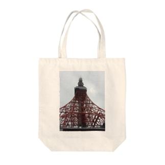 カスムトーキョー Tote bags