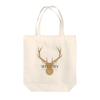MIGERY 鹿 Tote bags