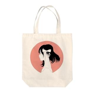 りぼん Tote bags