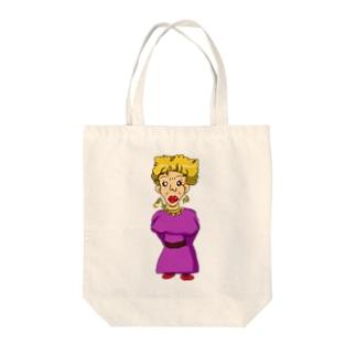 魅力溢れる大人のお姉さん Tote bags