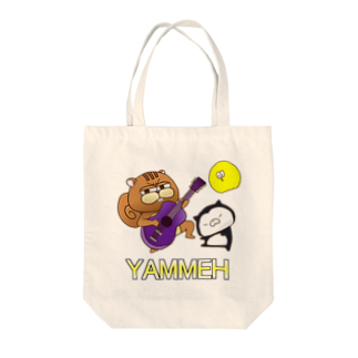 SUZURI×ヤマーフのYAMMEロック Tote bags