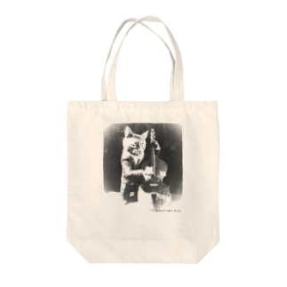 Doublebass Player  Tote bags