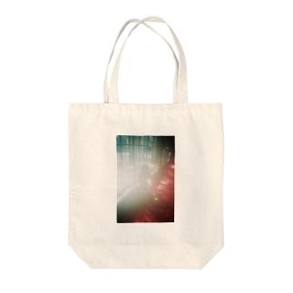 まぼろし Tote bags