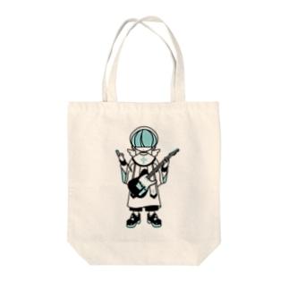 ロックンロール聖歌隊 Tote bags