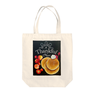 team-AのThankful Tote bags