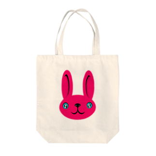 ameyoのウサギ pink Tote bags