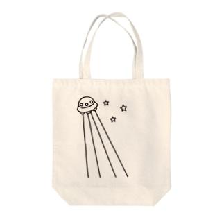UFO Tote bags