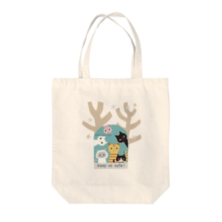 Asabata cat's project1 Tote bags