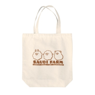 SAUDI FARMのCHALK BALLS Tote bags