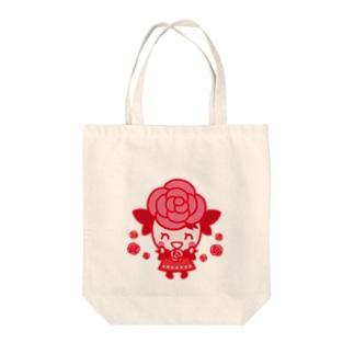 ばららちゃんニコニコ Tote bags