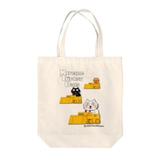 ネコ兄弟 tXTC_28 Tote bags
