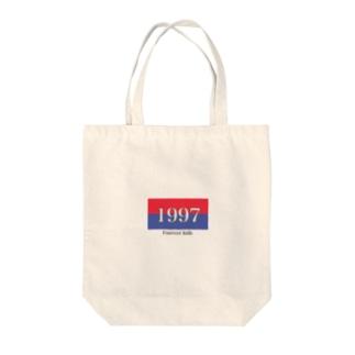 '97 Tote bags