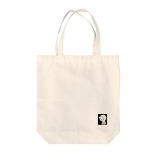 ぷぃんぷぉ Tote bags