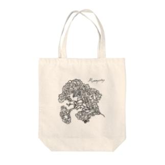 変形菌 Tote bags