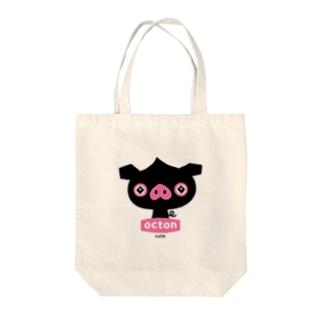 はちエンピツのocton #cute Tote bags