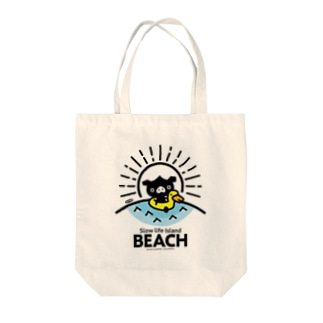 octon Slow life Island BEACH #basic Tote bags