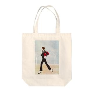 「ケイタイ」 Tote bags