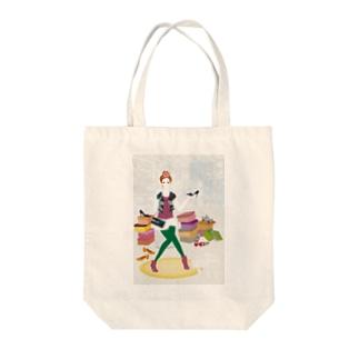 「靴屋」 Tote bags