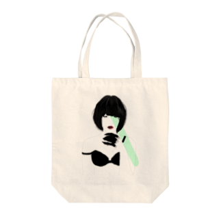 Mukade byのDevil Girl Tote bags