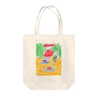 マダムのアフタヌーンティー Tote bags