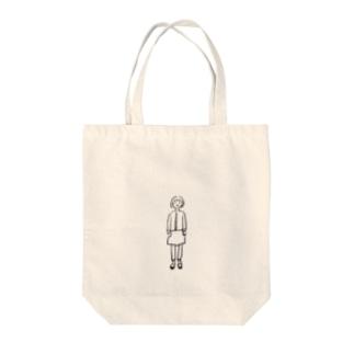 棒立ち Tote bags