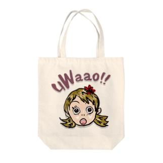 uWaao Tote bags