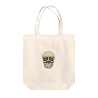 ドクロ Tote bags