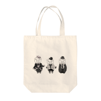 BiB handmadeshopのぶた3 Tote bags