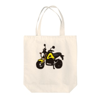 GROM YELLOW Tote bags