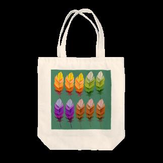 cocoyumi8のふわふわ羽根 Tote bags