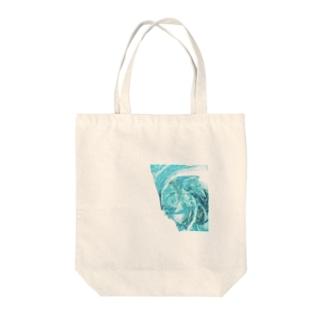 ニンフ(妖精)の潮流 Tote bags