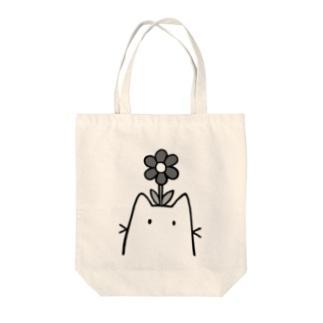 花が咲いたよ Tote bags