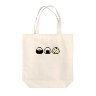 おにぎり【ドット】 Tote bags